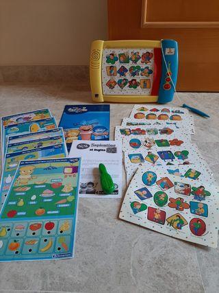 LOTE: 2 juguetes educativos interactivos