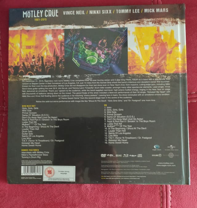 MOTLEY CRUE CD-DVD-BLU-RAY