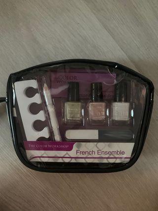 Kit manicura francesa