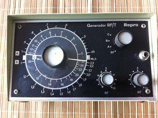 Generador de Radio frecuencia y audio Repro
