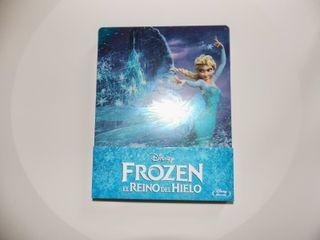 Frozen Blu-ray edición metálica