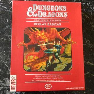 DUNGEONS & AND DRAGONS LA CAJA ROJA JUEGO DE ROL