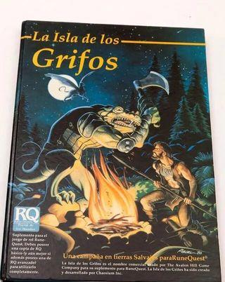 RuneQuest La Isla de los Grifos Joc Internacional