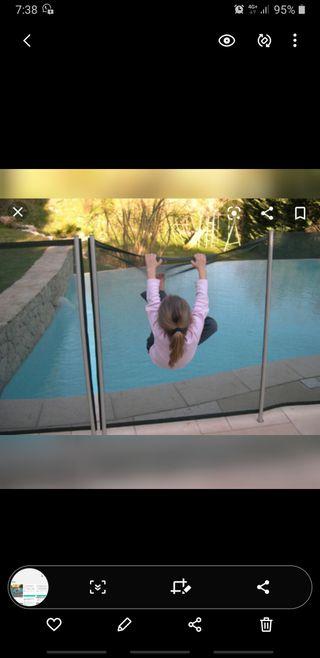Valla seguridad piscina Beethoven
