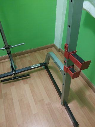 Máquina de pesas con polea