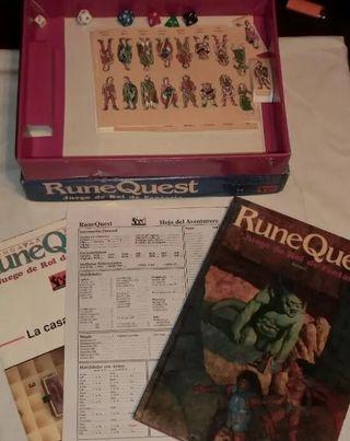 RuneQuest básico caja juego de rol Joc nuevo