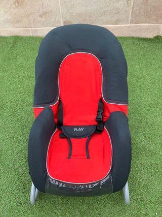 Hamaca balancín tumbona silla bebé