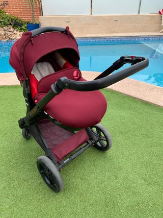 Carro (silla para coche) bebé 3 pzas+burbuja+bolsa
