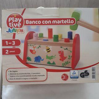 juguete aprendizaje de madera
