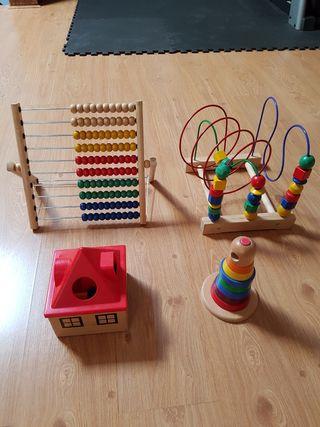 Juguetes de madera Ikea