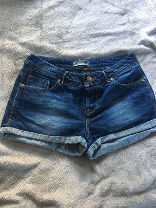 Short o pantalón corto denim