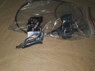 SLX desviador y pulsador izquierdo