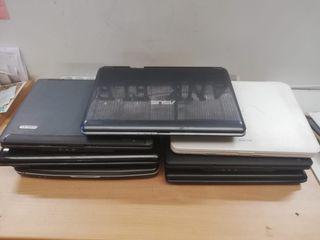 Lote de 7 portátiles para piezas