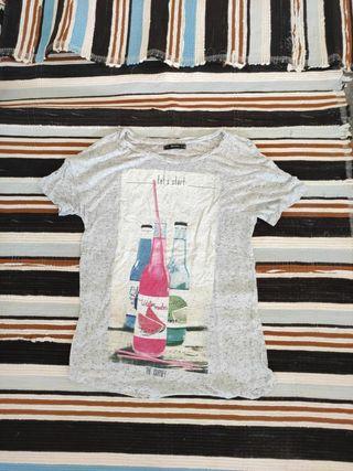 camiseta refrescos
