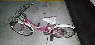 bicicleta niña 5 a 10