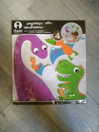 Pegatinas / vinilo dinosaurios infantil