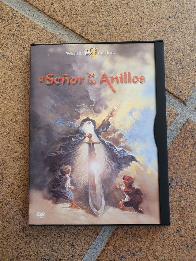 DVD El señor de los Anillos dibujos animados