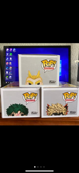 My Hero Academia Funko pop set.