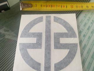 Pegatina original del logo Kawasaki h2r