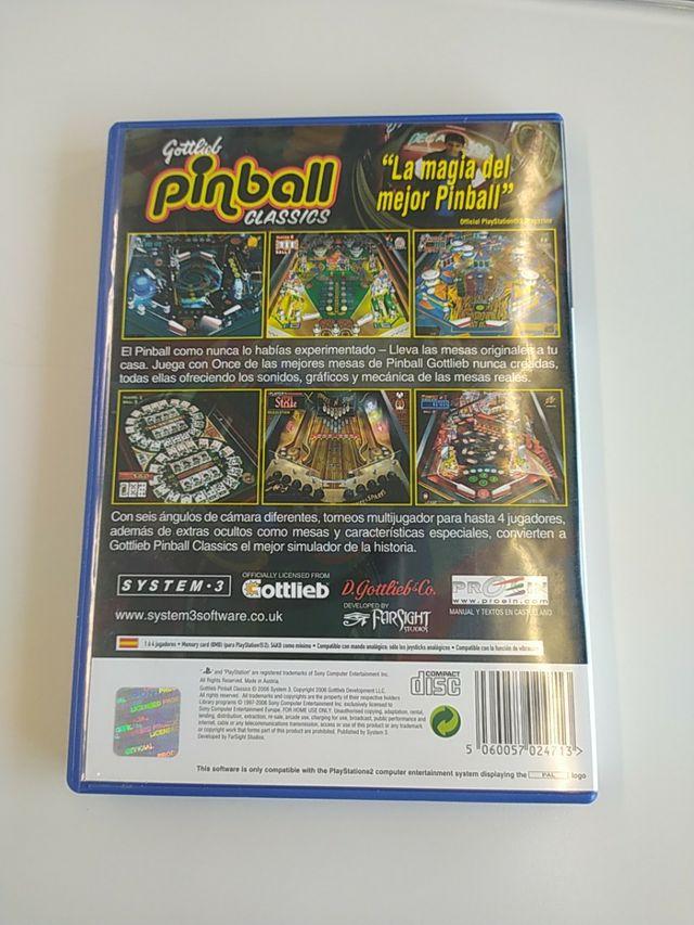 Gottlieb Pinball Classic ps2
