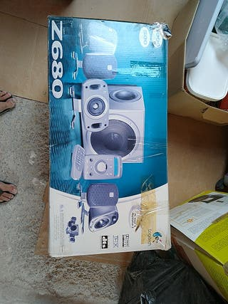 Home Cinema 5.1 Logitech Z680