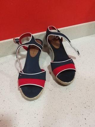 zapatos sandalias TOMMY HILFIGER 36-37