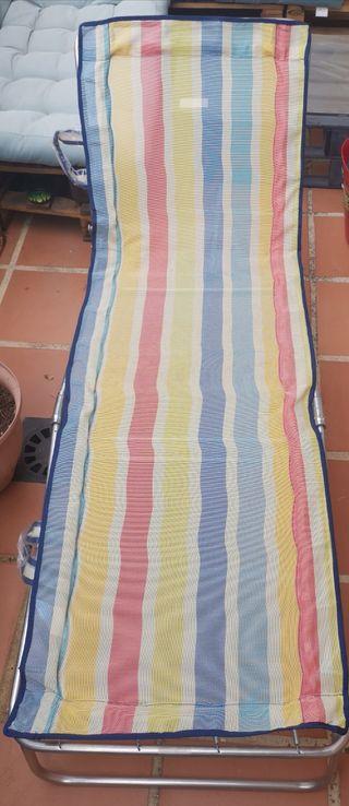 Tumbona Playa Plegable