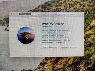 Vendo iMac de 21,5