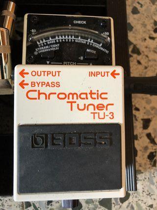 Pedales Guitarra Boss Chromatic Tuner