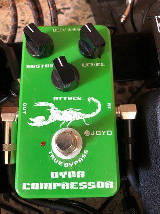 Pedales Guitarra Joyo Compressor