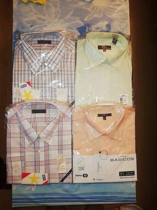 camisas hombre con etiqueta