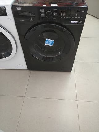 Lavadora / Secadora Beko en color negro