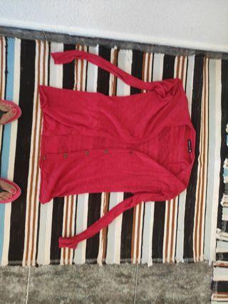 chaqueta roja