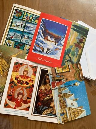 Set postales navideñas