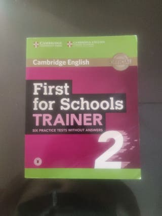 First for schoools trainer 2