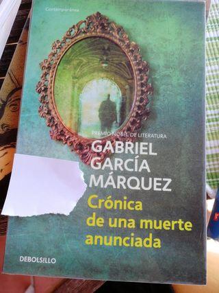 CRÓNICA DE UNA MUERTE ANUNCIADA - García Márquez