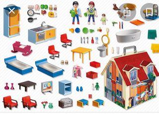 Maletín Casa de muñecas PLAYMOBIL