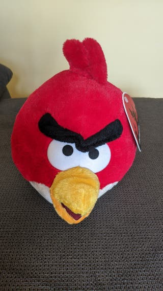 Peluche Angry birds rojo