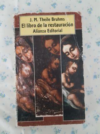 Libro de conservación y restauración arte