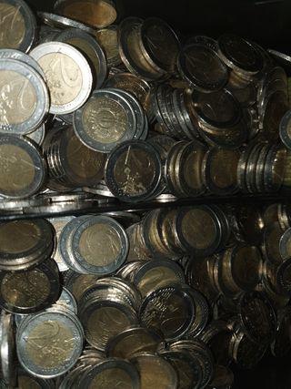 2 Euros conmemorativos, monedas.