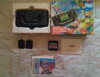 Consola Sega Game Gear Pack 4 en 1 Completa