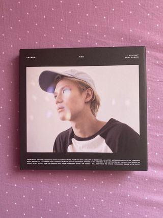kpop taemin shinee ace primer mini album