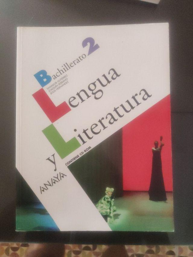 lengua y literatura 2 bachillerato anaya