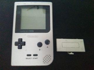 Consola Gameboy Pocket Gris