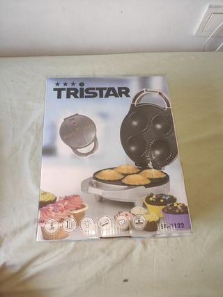 TRISTAR máquina para hacer muffins/magdalenas