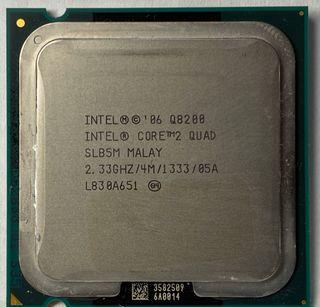 Intel Q8200 Quad core 2.33Mhz