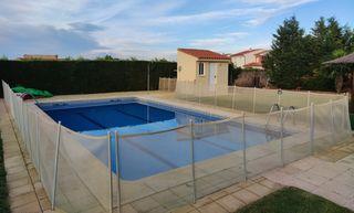 valla de seguridad piscina