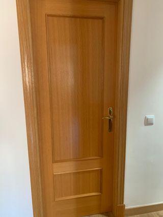 Puertas de paso y armario