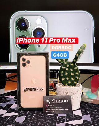 iPhone 11 Pro Max 64Gb Gold Precintado (Tienda)