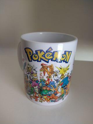 Taza Pokémon primera generación - Nueva